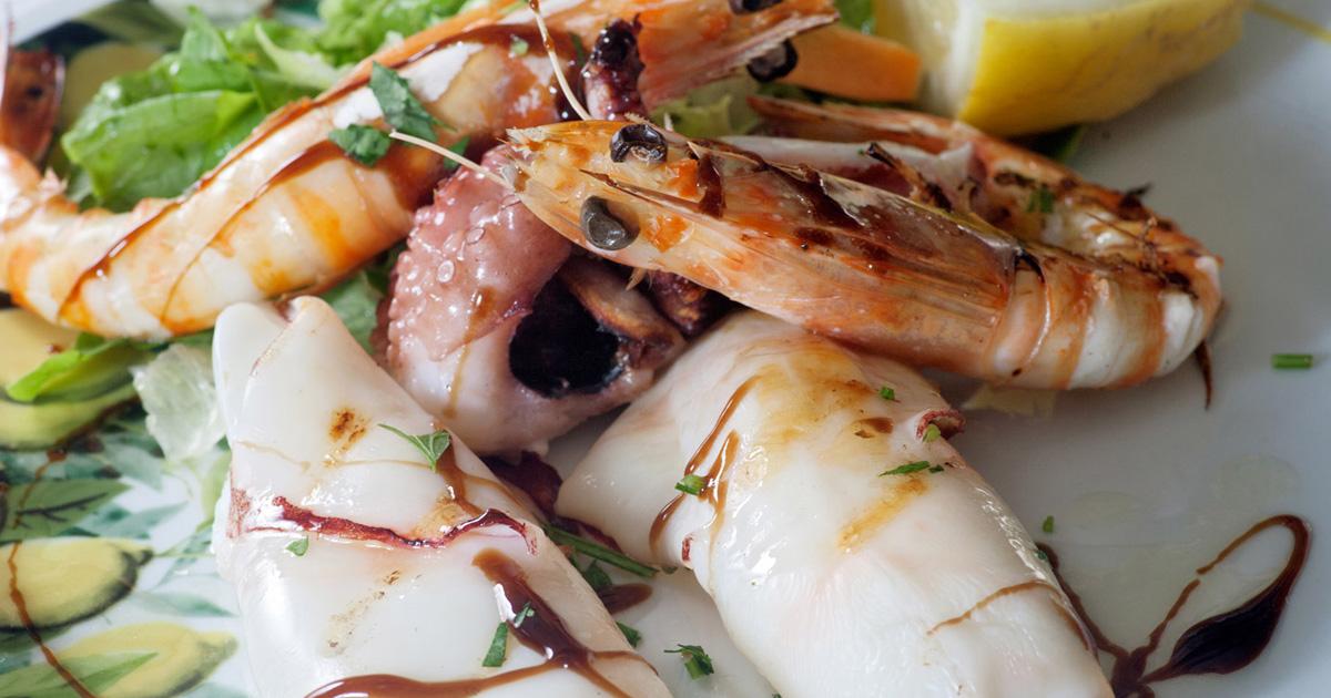 Da Paolino Capri Restaurant Menu Grilled Fish Specialties