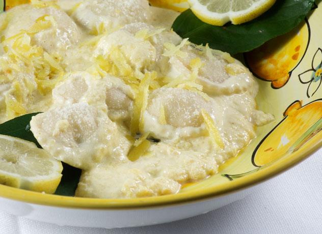 Ravioli Capresi al limone