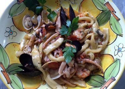 Seafood Scialatielli