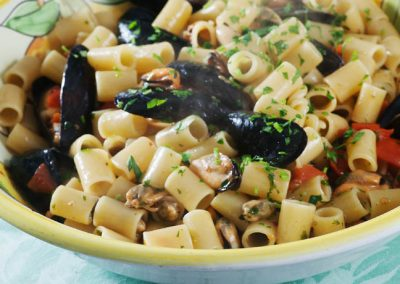 Tubettoni with mussels