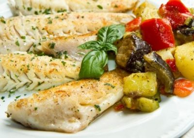 Fillet of Gilthead grilled