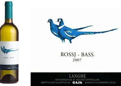 Chardonnay Langhe DOP – Bassj Ross Gaja 2015